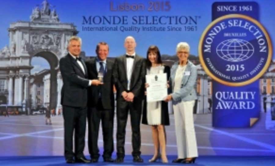 Monde Selection Gold & Silver Awards